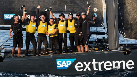 SAP Extreme Sailing Team triumphs in 2017 Extreme Sailing Series™