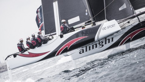 Alinghi gewinnt Act 3 der Extreme Sailing Series™ in Barcelona