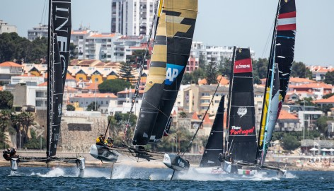 SAP Extreme Sailing Team smashes Extreme Sailing Series™ speed record on day two in Cascais
