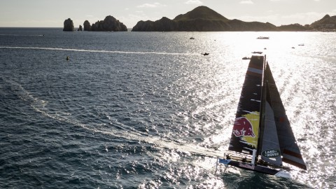Hat-trick for Hagara and Steinacher at Extreme Sailing Series™ Los Cabos opener