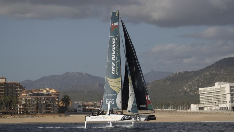 High fliers: Team Oman Air takes the lead at Extreme Sailing Series™ Los Cabos