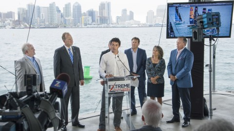 Mayor leads welcome as the Extreme Sailing Series™ heads to San Diego