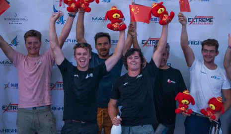 Les Kiwis victorieux de la Qingdao Mazarin Cup powered by Extreme Sailing Series™